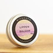 Bienesto Lippenbalsam Lavendel - natürlicher Lippenbalsam in der 18g Dose