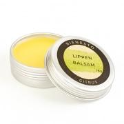 Lippenbalsam Citrus aus 100% natürlichen Inhaltstoffen mit Bio-Bienenwachs und Bio-Jojobaöl im Döschen